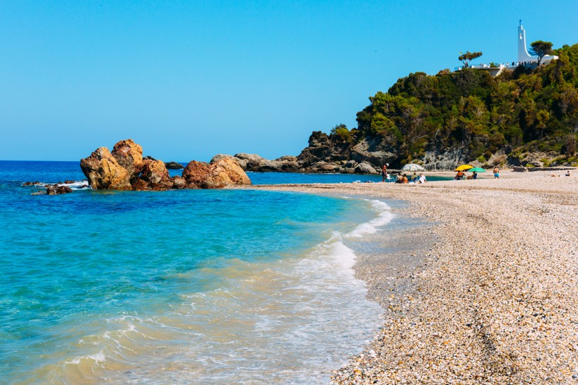 Potami beach on Samos