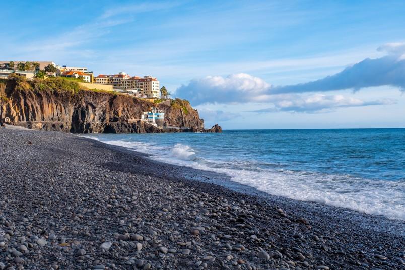 Praia Formosa, Madeira