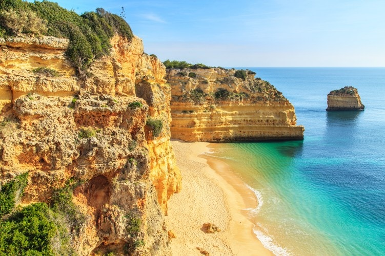 Praia da Rocha, Portugalsko