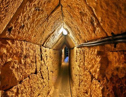 Eupalinův tunel, Samos