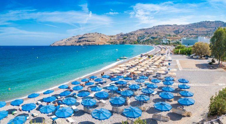 Vlycha beach, Rhodos