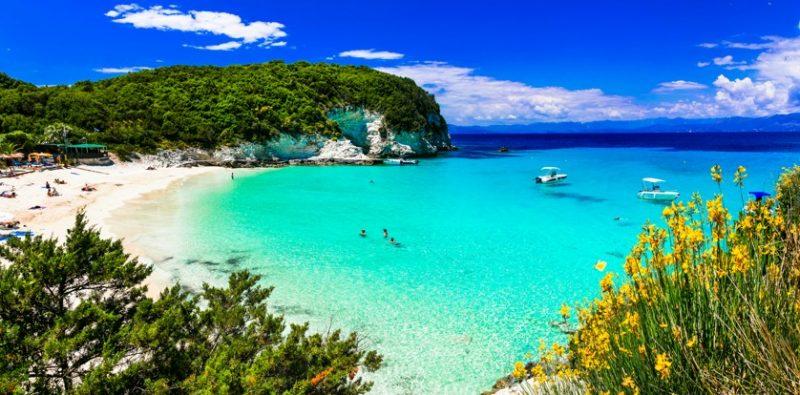 Antipaxos, Korfu