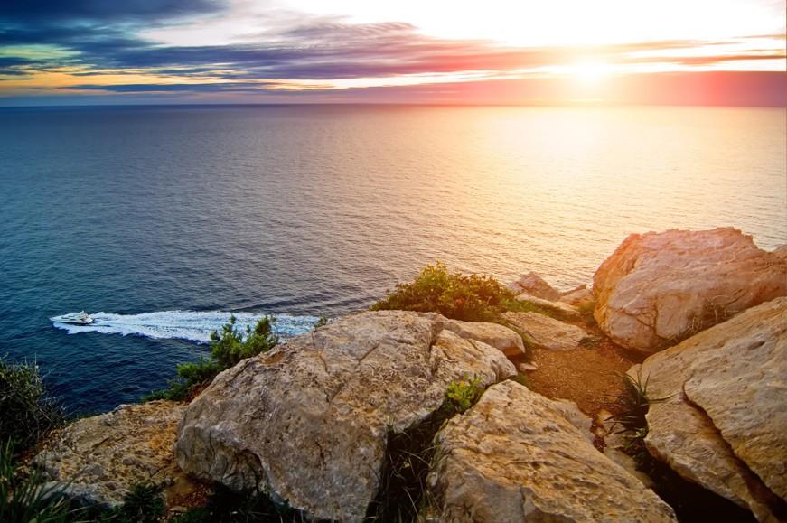 západ slunce, Mallorka