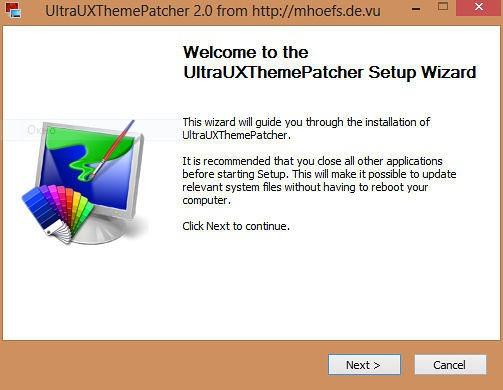 UltraUXthemePatcher windows8