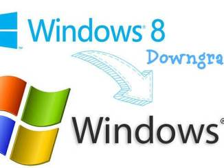 downgrade windows 8