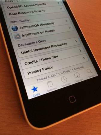 jailbreak iphone 5c ios 7.1.1