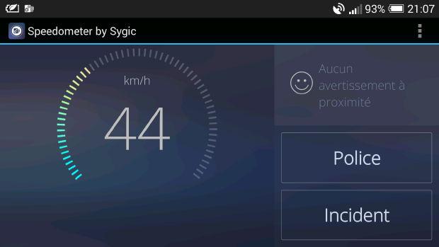 speedometer un avertisseur de d passement de vitesse et bien plus nalaweb. Black Bedroom Furniture Sets. Home Design Ideas