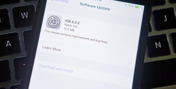 ios 8.0.2 est là, comment l'installer