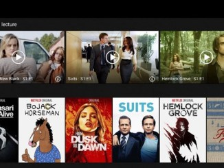 Aperçu du contenu de Netflix