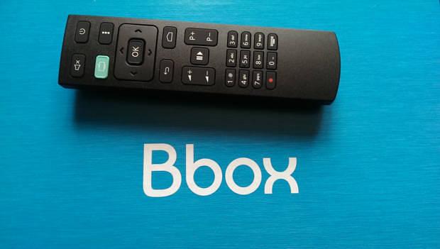 telecommande de la bbox miami