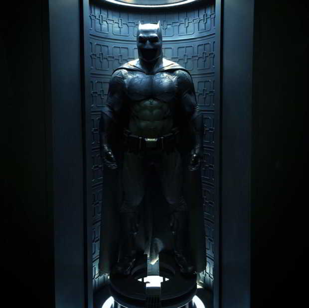 costume de batman dans Batman vs Superman