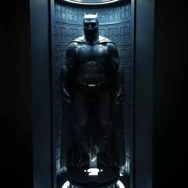 costume de batman dans Batman vs Superman