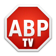 adblock plus TV logo