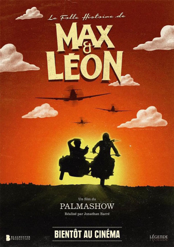 La folle histoire de max et leon