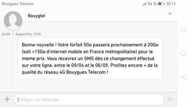 sms de bouygues data
