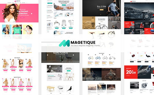 Magetique on TemplateMonster