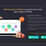 AnyTrans: Sa licence est offerte et 2 smartphones à gagner