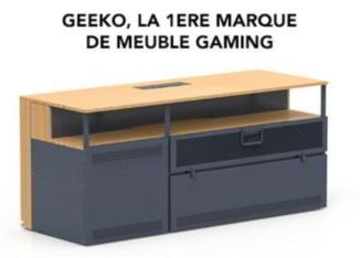 Geeko meuble gaming