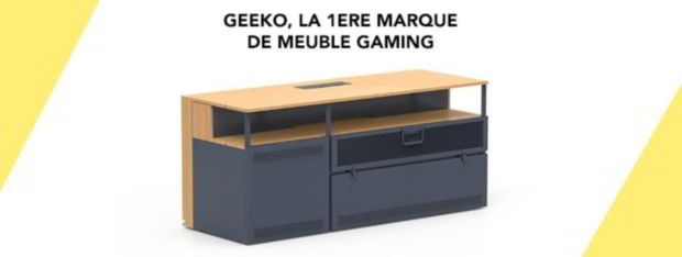 Geeko meuble gaming