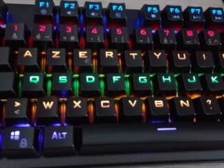 the G-lab keybord keyz carbon v2