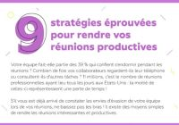 9 strategies pour rendre une reunion efficace wrike nalaweb