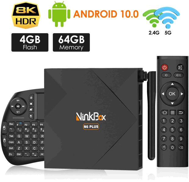 ninkbox box android TV