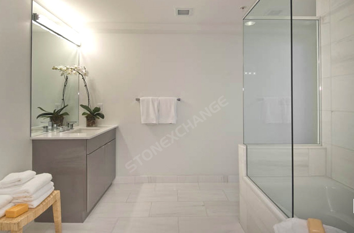 Tile For Bathroom Pros And Cons Of Marble Bathroom Flooring Nalboor