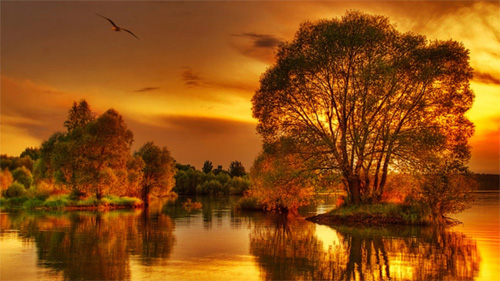 Fall Wallpaper Dual Monitor 44 Free Beautiful Sunset Wallpapers Naldz Graphics