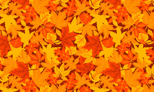 Fall Leaf Pattern Wallpaper 33 Motivating Orange Patterns For Creative Minds Naldz