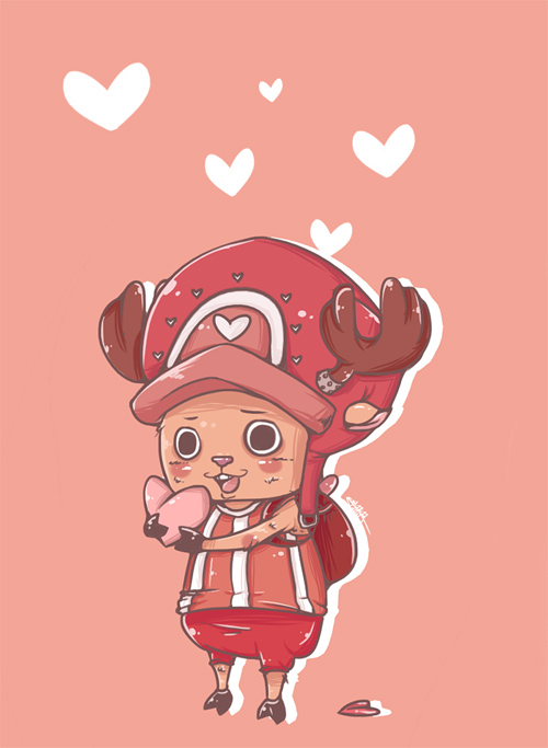 Happy New Year Iphone Wallpaper 30 Chopper Of One Piece Artworks Naldz Graphics