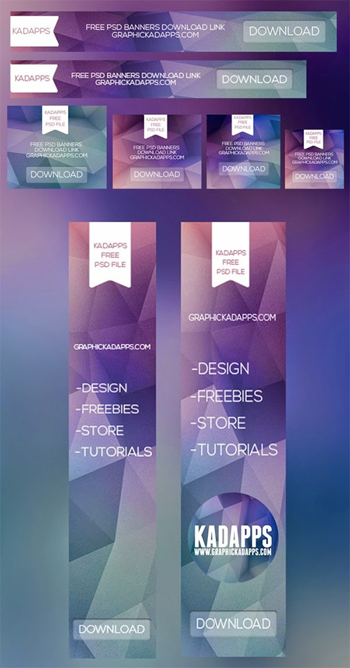 22 Free And Fully Editable Web Banner Templates PSD