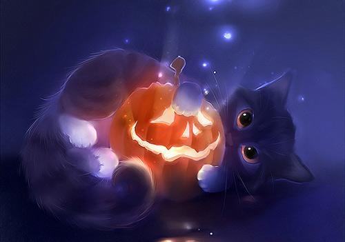 Fall Kitten Wallpaper Wondrous Illustrations That Will Make You Dreamy Naldz