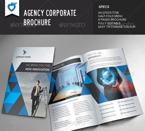 45 Revisable Premium Brochure Template Designs Naldz Graphics