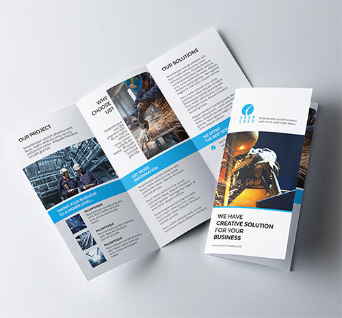 Best Trifold Brochure Ideal Vistalist Co