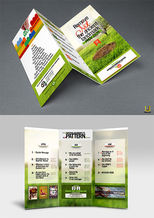 30 Creative Examples Of Tri Fold Brochure Designs Naldz
