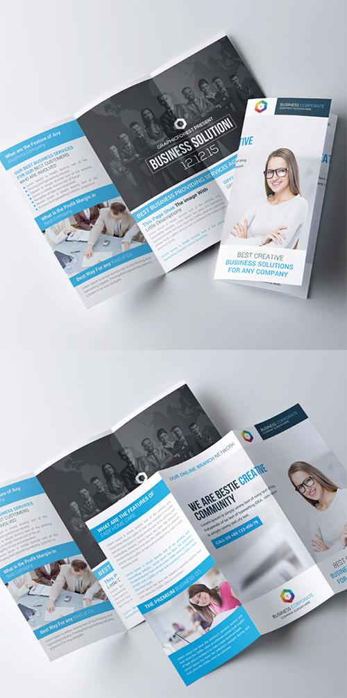 30 Creative Examples Of Tri Fold Brochure Designs Naldz Graphics