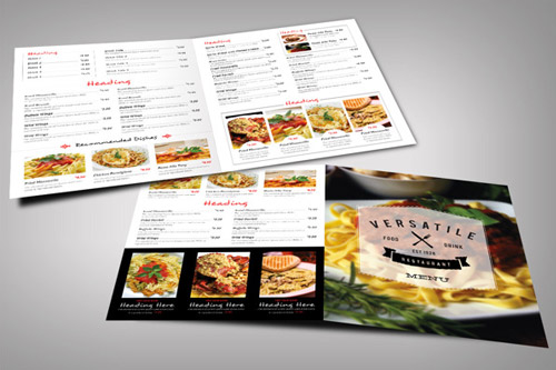 30 Inspired Restaurant Menu Brochure Designs You Must See  Naldz Graphics