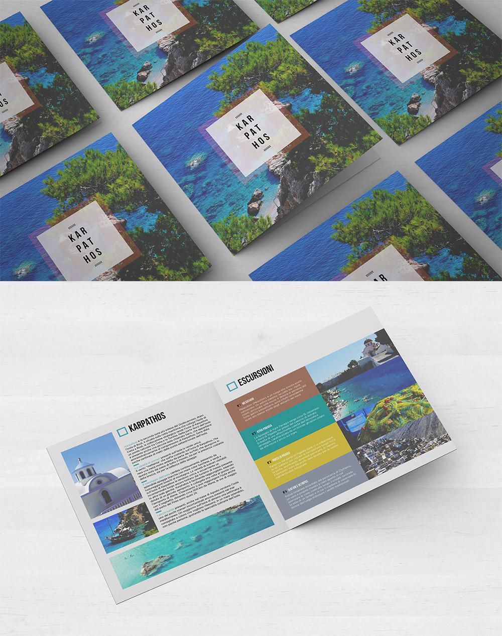 Bifold Travel Brochure