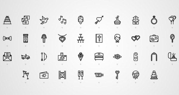 free wedding icons # 15