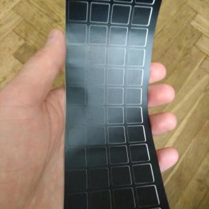 Специальные наклейки на клавиатуру