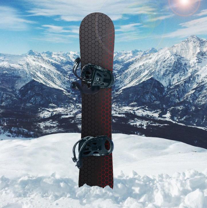 nakleika_na_snowboard_black_honeycomb_2