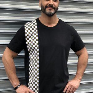 T-shirt homme 164 noir