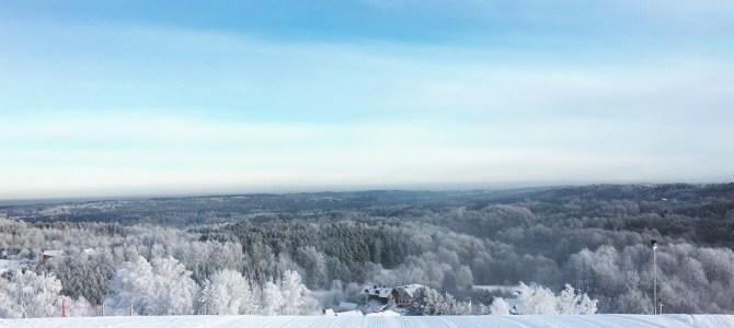 Stok narciarski w Wilnie