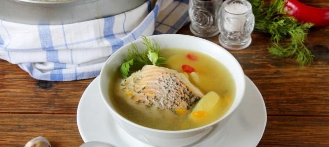 Tradycyjna litewska zupa rybna