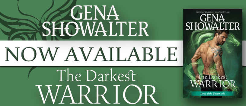 THE DARKEST WARRIOR - A Gena Showalter Review & Excerpt Reveal