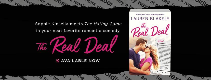 THE REAL DEAL - A Lauren Blakely Review, Excerpt Reveal & Giveaway