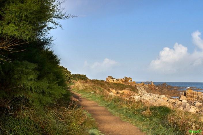 Sur le GR 34 près de Plouescat dans le Finistère Nord