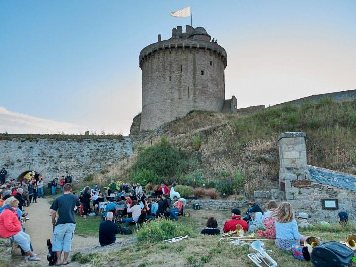 Fête de la musique au Fort la Latte - la Roche Goyon