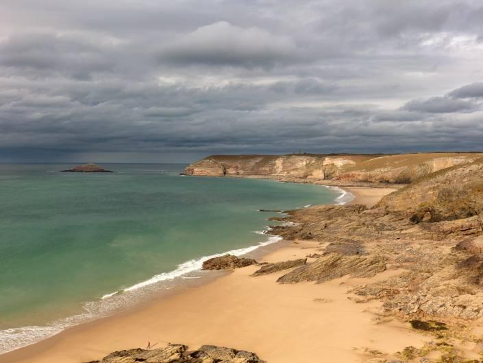 Vue de la côte sauvage