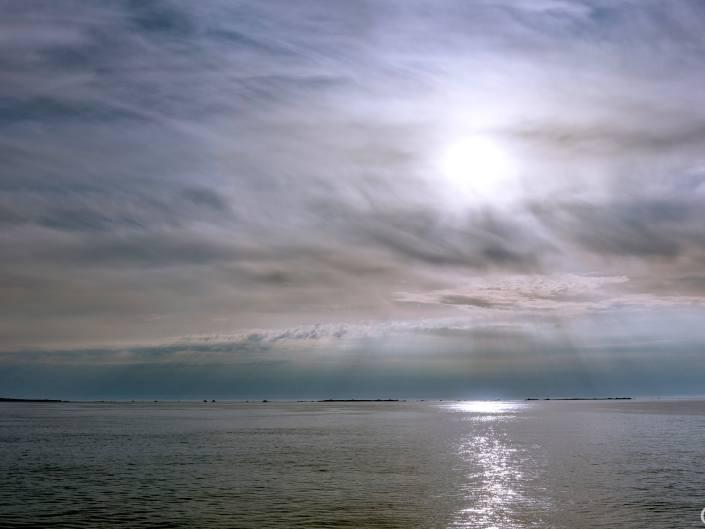 Ciel voilé sur Ouessant